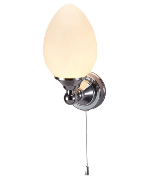 Burlington Edwardian Single Eliptical Light With Pull Cord