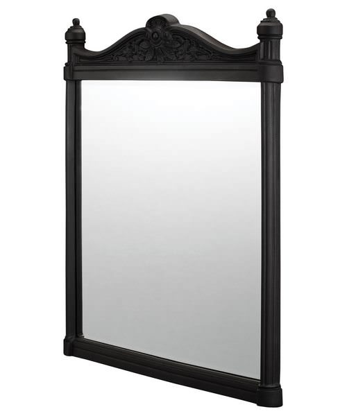 Burlington Georgian Mirror With Black Aluminium Frame