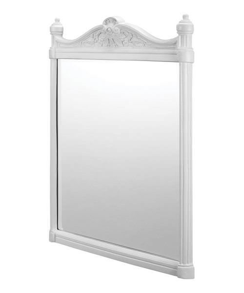 Burlington Georgian Mirror With White Aluminium Frame
