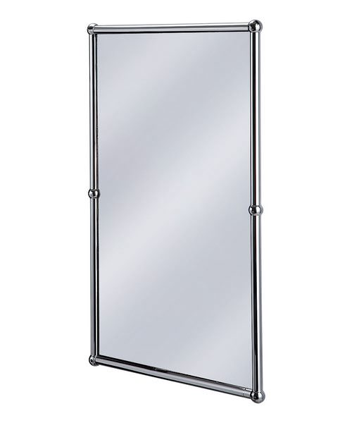 Burlington Rectangular Mirror With Chrome Frame