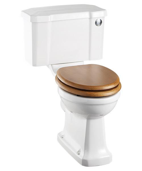 Burlington Regal Close Coupled WC With Front Button Cistern