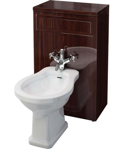 Burlington Bidet Unit Mahogany 500 x 300 x 810mm