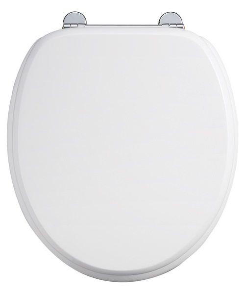 Burlington Carbamide White Standard Toilet Seat