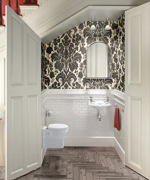 Burlington Traditional Wall Hung Cloakroom Suite