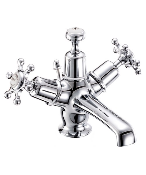 Burlington Birkenhead Basin Mixer Tap With Pop-Up Waste