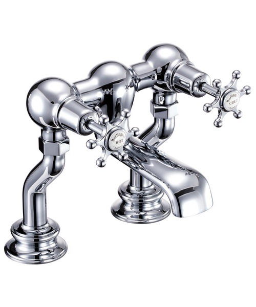 Burlington Birkenhead Regent Deck Mounted Bath Filler Tap