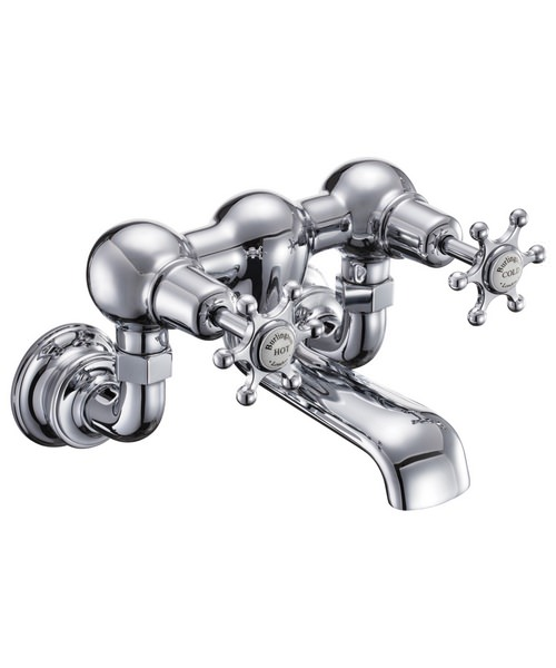 Burlington Birkenhead Regent Wall Mounted Bath Filler Tap