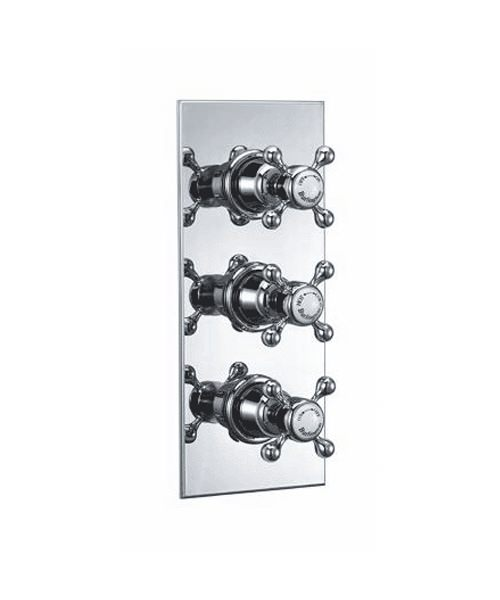 Clyde Concealed Thermostatic Valve With Anglesey Valve Handle