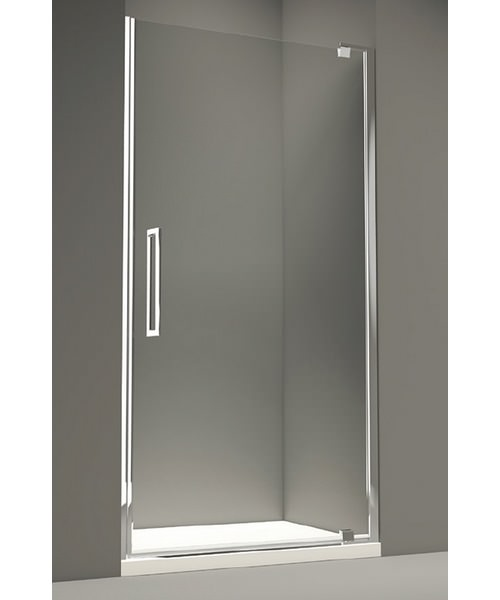 Merlyn 10 Series Clear Glass Pivot Door 900mm