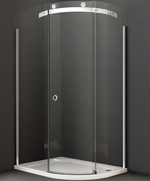Merlyn 10 Series 1 Door Offset Quadrant Enclosure 1200 x 900mm