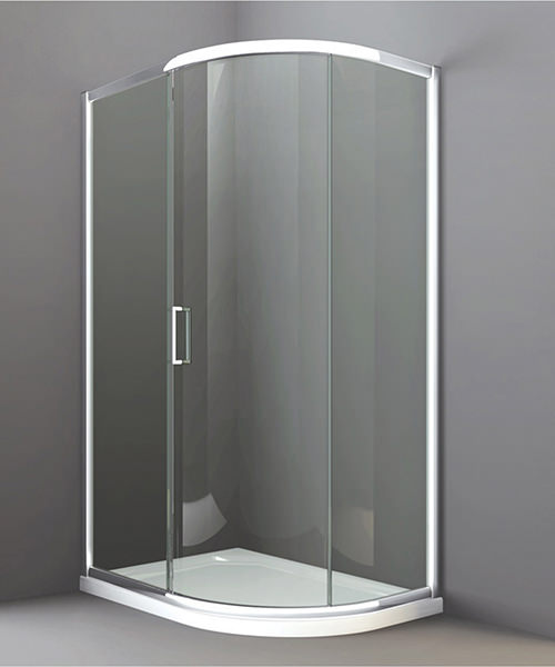 Merlyn 8 Series 1 Door Offset Quadrant Enclosure 1200 x 800mm