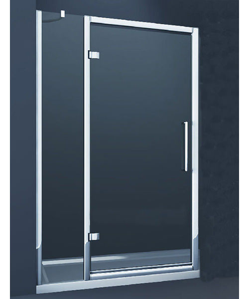 Merlyn 8 Series Hinge Door And Single Inline Panel 900mm