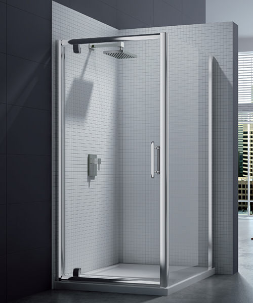 Merlyn 6 Series 1000 x 1900mm Pivot Shower Door