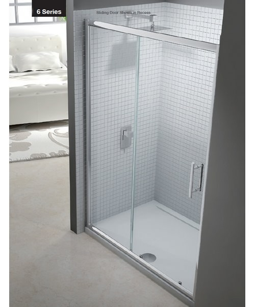 Merlyn 6 Series Sliding Shower Door 1400mm
