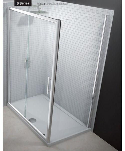 Merlyn 6 Series Sliding Shower Door 1700mm