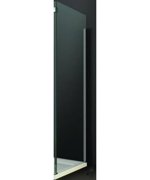 Merlyn 10 Series Clear Glass Side Panel 760 x 2100mm