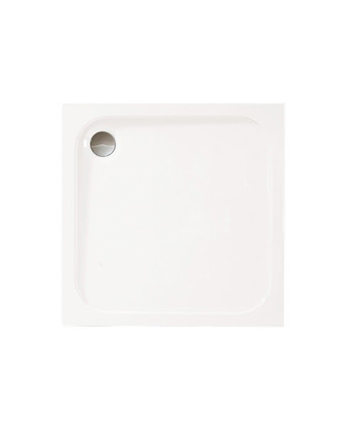 Merlyn Mstone Square Shower Tray With Waste - 760 x 760mm