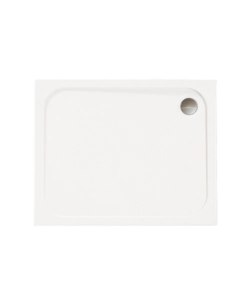 Merlyn Mstone Rectangular Shower Tray With Waste - 1400 x 800mm