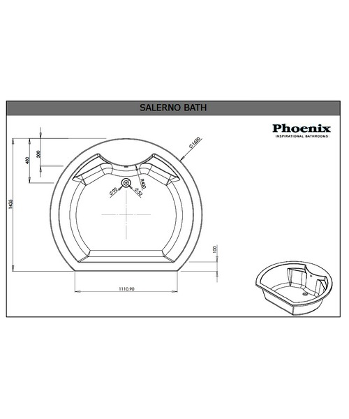 Technical drawing 3754 / SALBM156S2