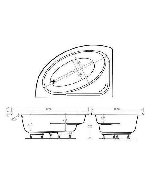 Technical drawing 8747 / TOR14951020