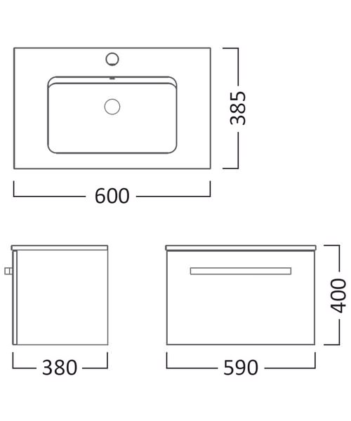 Technical drawing 15994 / SW600W