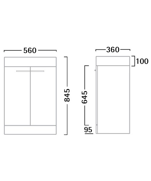 Technical drawing 30026 / K56FW