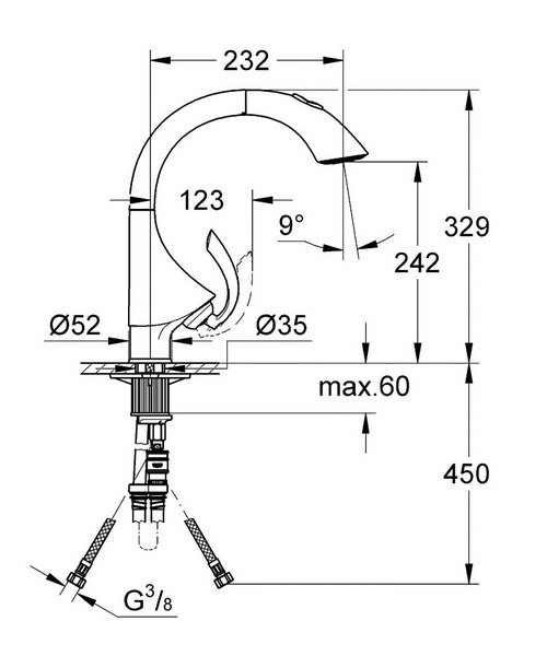 Technical drawing 19649 / 33782SD0