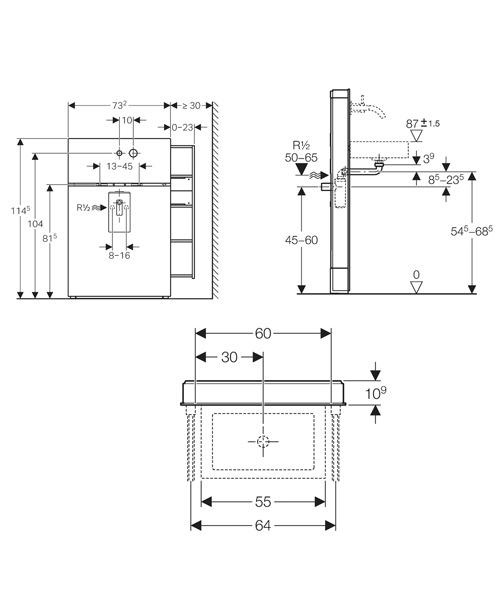 Technical drawing 29530 / 131.041.SJ.1