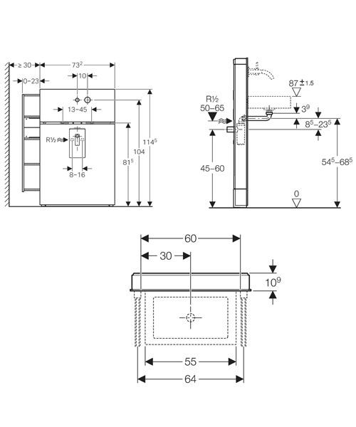 Technical drawing 29528 / 131.040.SQ.1