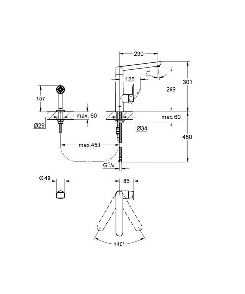 Technical drawing 19627 / 32179000