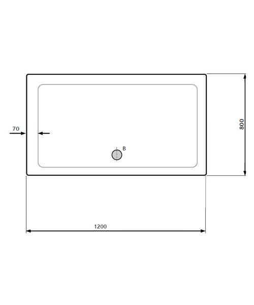 Technical drawing 18699 / LKTR8012 SMC