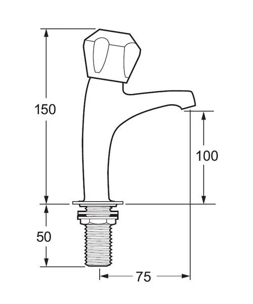 Technical drawing 19415 / DCM SPEC103
