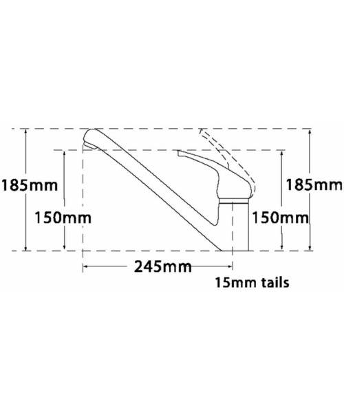 Technical drawing 11414 / 190A