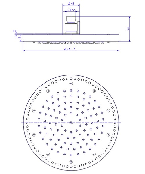 Technical drawing 8079 / FHX722C