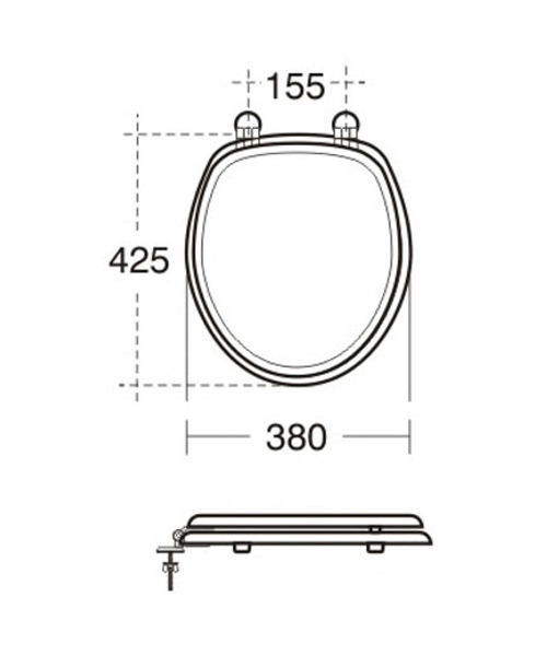 Technical drawing 29651 / E3800FK
