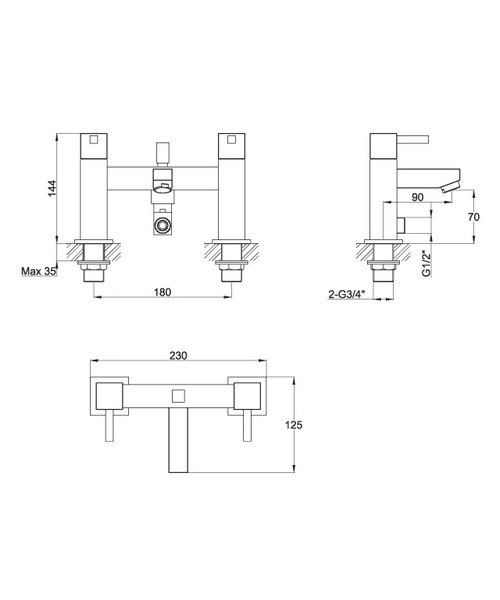 Technical drawing 30589 / SQBF