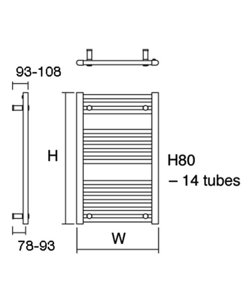 Technical drawing 23109 / Metro 30/80