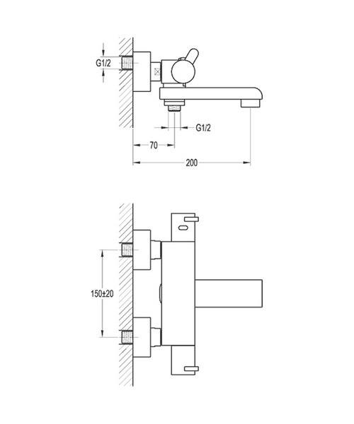Technical drawing 36020 / ESTBSMWM
