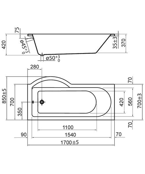 Technical drawing 30731 / PBSBRH17
