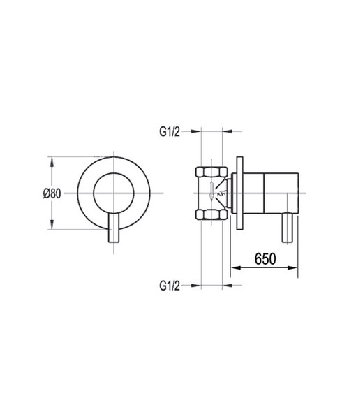 Technical drawing 36059 / LVWMCONCW