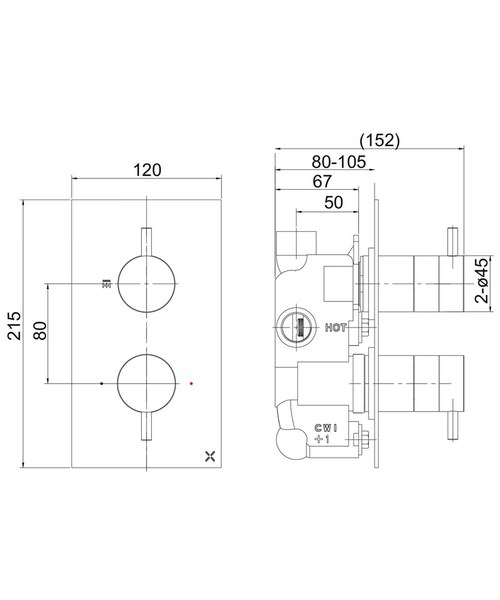 Technical drawing 36422 / PRO1000RC