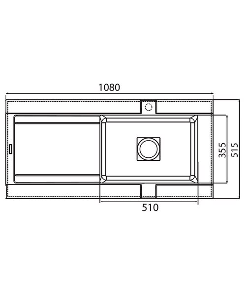 Technical drawing 37680 / GE10RZHOMEPK5