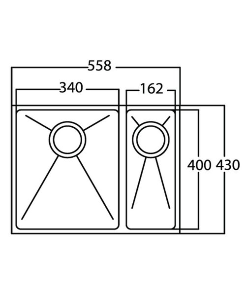 Technical drawing 36993 / OX15XBHOMEPKR