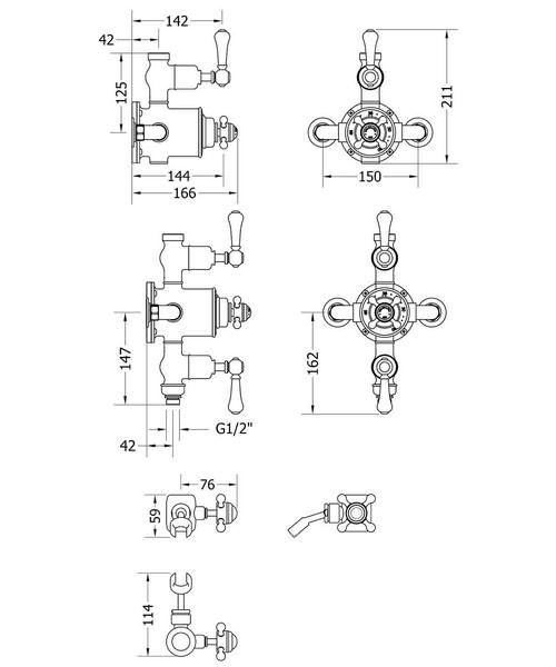 Technical drawing 49127 / BEL_SLIDER