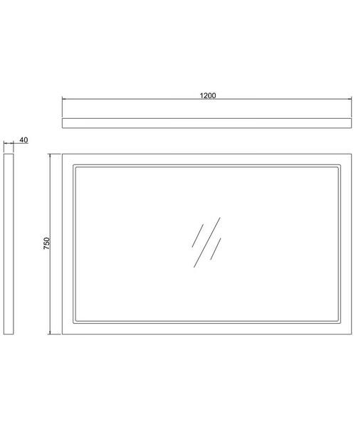 Technical drawing 45824 / M12OG