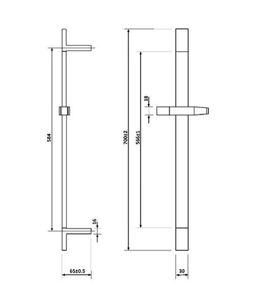 Technical drawing 46886 / BQCVPK001