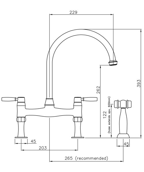 Technical drawing 42255 / AT3021