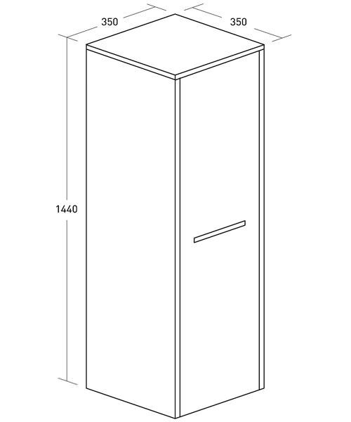 Technical drawing 8370 / ES3514FAN