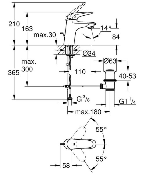 Technical drawing 51314 / 23707003