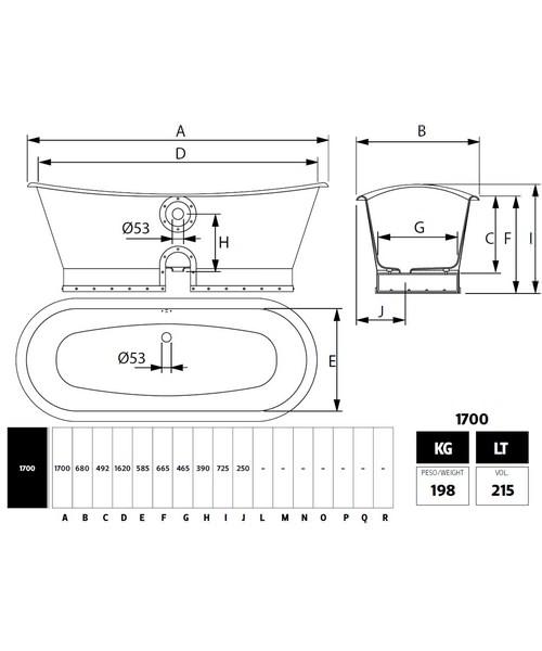 Technical drawing 10003 / CI000107